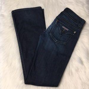 Hudson bootcut/flare dark wash jeans Size 26